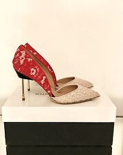 Kurt Geiger London Beaumont Red & Pink High Heel Court Shoes Size 7 40 RRP £220