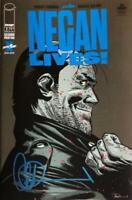 Negan Lives #1 Walking Dead Special Signed By Charlie Adlard 2nd Print