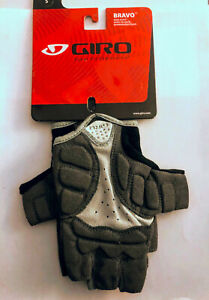 Giro Bravo Gel Cycling Gloves Adult Small Black/Charcoal Road or Racing Save 21%