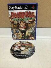 Rampage Total Destruction Playstation 2 PS 2 Video Game