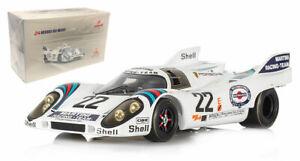 Spark 18LM71 Porsche 917K #22 'Martini' Le Mans Winner 1971 - 1/18 Scale