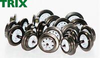 Trix Express H0 E36669300 DC-Gleichstrom Radsatz Doppelspeiche (10 Stück) - NEU
