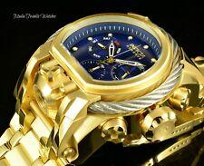 52MM Invicta Reserve Bolt Zeus MAGNUM Swiss Quartz Dual Movement SANDBLAST Watch