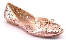 New ARTURO CHIANG Women Leather Flat Ballet Slip On Dress Shoe Sz 7.5 M