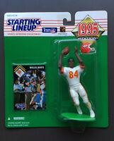 WILLIE DAVIS 1995 Starting Lineup Figure Bonus Card Kansas City Chiefs NFL