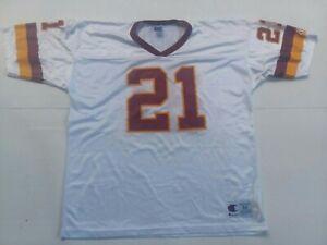 Deion Sanders Vintage Champion Washington Redskins Jersey Size 44