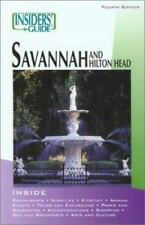 Savannah and Hilton Head - Insiders Guide by Rich Wittish and Betty Darby (PB)