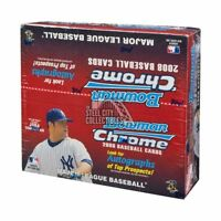 2008 Bowman Chrome Baseball 24ct Retail Box