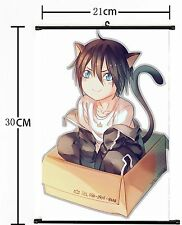 Hot Japan Anime Noragami Scroll Wall poster Home Decor cosplay 689