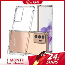 Galaxy Note 20 Ultra 5G Note 10 Plus 5G Case Clear Shockproof Slim Bumper Cover