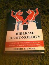 Biblical Demonology Merrill F. Unger 1973 11th Ed. Scripture Press Publications