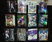 Vikings RC Prizm insert serial # lot Randy Moss Jim Kleinsasser Fran Tarkenton