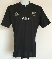 N.Z. ALL BLACKS 2015-16 S/S HOME JERSEY BY ADIDAS SIZE MEN'S SMALL BRAND NEW