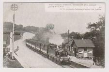 Dorset postcard - Spetisbury Station, Somerset & Dorset Joint Railway