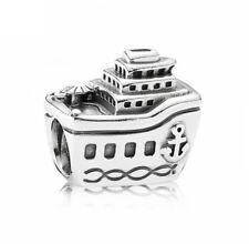 Original Pandora Bead Charm 791043 Kreuzfahrtschiff Schiff 925 Silber SALE OVP