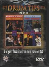 Drum Tips Part 2 Double Bass Drumming/Funky Drummers DVD