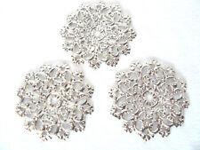 3 St Antikbeschlag Zierbeschlag Zierteil Möbelbeschlag Knopfschild Beschlag