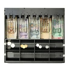 Cashier Drawer Cash Register Insert Tray Replacement Money Storage 5 Bill 8Coin