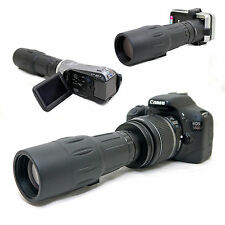 10x 42 1000mm Telescope for Canon Eos Rebel Xsi 450D Kiss X2 Ef-s 18-55mm Lens