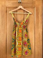 Tigerlily | Silk Paisley Triangle Sundress Dress Beach Cover Up sz10 RRP$179