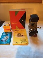 Keystone K27 8mm Movie Camera 3 Lenses with Box and L-86 Sekonic Light Meter