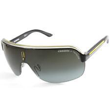 Carrera Topcar 1 KBN-PT Shiny Black Yellow/Grey Gradient Shield Sunglasses