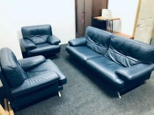 ligne roset melody leather sofa set.  RRP £7500