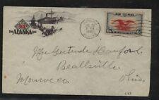US   Alaska  ship cachet  cover   1940         MS1227