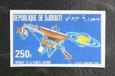 TIMBRES THEME COSMOS SPATIAL : 1980 DJIBOUTI YVERT PA N° 146 NEUF Non Dentelé