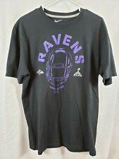 Nike Nfl Baltimore Ravens Super Bowl Xlvii Men's Black T-Shirt Size Large