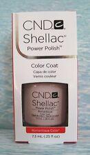 CND SHELLAC POWER POLISH UV Color Coat Gel Nail Polish ~ ROMANTIQUE 0.25 oz *NIB