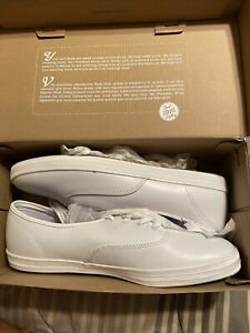 Keds Champion White Leather WH45750M Sneakers Casual Shoe Women's Size 11