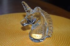 Glass Paper weight Unicorn