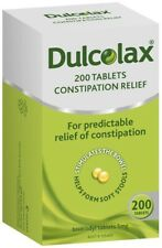 Dulcolax 5mg Tablets 200 - Effective Constipation Relief
