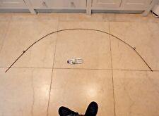 large art deco era glavanised sprung galvanised semi circle rod  cloches  tubes