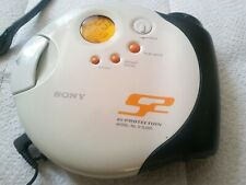 Sony Walkman Personal Portable CD Player D-SJ301 Tested with sony headphones