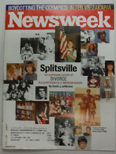 Newsweek Magazine Splitsville Boycotting The Olympics April 2008 052615R2