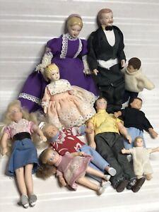 Dollhouse Vintage 1:12 Doll Lot