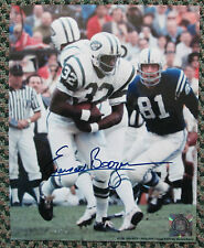 VINTAGE EMERSON BOOZER AUTO SIGNED 8 x 10 PHOTO NEW YORK JETS