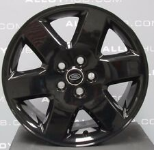 "GENUINE LAND ROVER DISCOVERY 4/3 HSE 19""INCH GLOSS BLACK ALLOY WHEELS X4, RANGE"