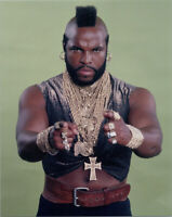 The A Team 8x10 publicity photo Mr T as B.A. pointing at camera