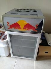 Red Bull Energy Drink Cooler Mini Fridge Table Top Small Refrigerator - New!