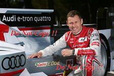 Tom Kristensen Audi 9 Times Le Mans Winner Portrait Photograph 1