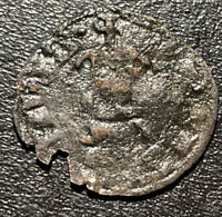 1309-1346 Luxembourg John 'The Blind' Silver Denier Medieval Coin