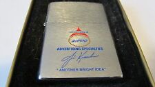 96 ZIPPO Flame Lighter Salesman Sample Ad Specialty New in Box ziplight