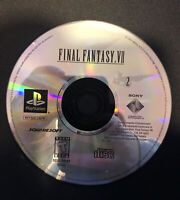 Final Fantasy VII 7(Sony Playstation 1 PS1) ☆Disc 2 Only☆REPLACEMENT DISC☆Tested