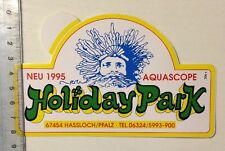 Aufkleber/Sticker: Holiday Park - Aquascope - '95 (01031694)