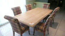 """DINING ROOM TABLE. Polished Travertine Marble, 84""""x42"""", Seats 6-8  People"""