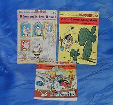 3 alte Fix+Foxi Taschenbücher Das Beste aus FF und FF-Super Sammler