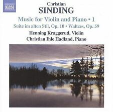Christian Sinding: Music for Violin and Piano, Vol. 1, New Music